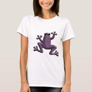 Purple Small Paisley Frog T-Shirt