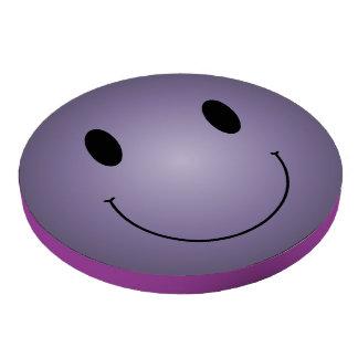 Purple Smiley Poker Chip Set