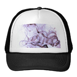 Purple Smoke Art Hats