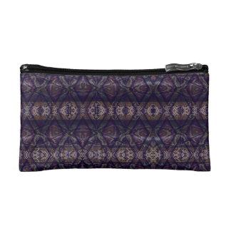 Purple Snake Makeup Bag