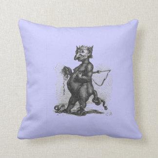Purple Snake Demon Cuddly Pillow