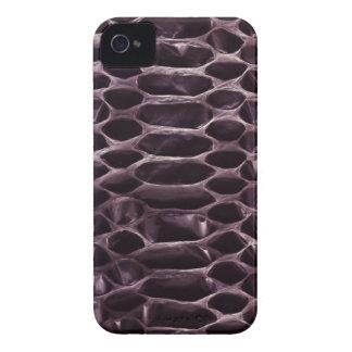 Purple Snake Skin iPhone 4 Covers