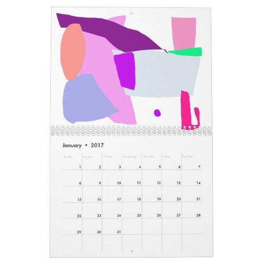 Purple Snake Wise Wit Green Egg Play Swift Calendar