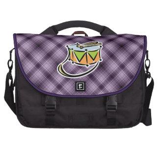 Purple Snare Drum Commuter Bag