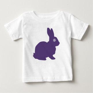 Purple SnowFlake baby tshirt