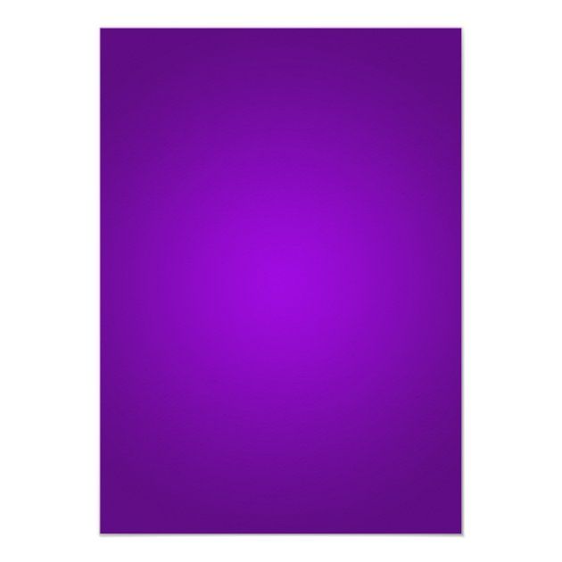 Purple Snowflake Border Christmas Party Card | Zazzle