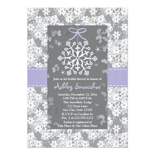 purple_snowflake_bridal_shower_invitations rc0c2bf36d2984c6eb96b841d7a4a7f0c_imtzy_8byvr_512 personalized winter wonderland wedding invitations,Winter Wonderland Bridal Shower Invitations