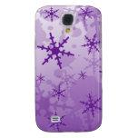 Purple Snowflake HTC Vivid Covers