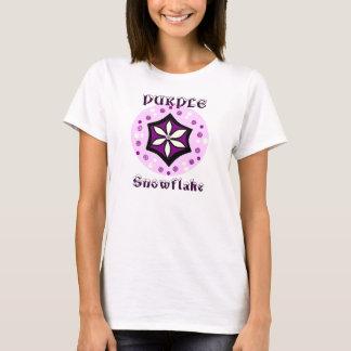 PURPLE SNOWFLAKE T-Shirt