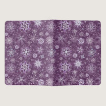 Purple Snowflakes for Chronic Pain Extra Large Moleskine Notebook