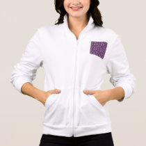 Purple Snowflakes for Chronic Pain Jacket
