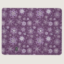 Purple Snowflakes for Chronic Pain Journal
