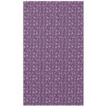 Purple Snowflakes for Chronic Pain Tablecloth
