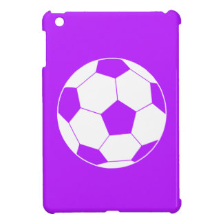 Purple Soccer Ball iPad Mini Case