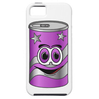 Purple Soda Can Cartoon iPhone SE/5/5s Case