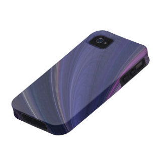 Purple Soft Sand Waves Case-Mate iPhone 4 Covers