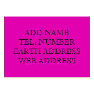 Purple solid color business card