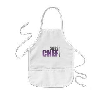 Purple Sous Chef Kids' Apron