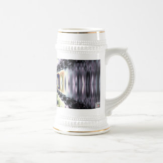 Purple Space Beer Stein
