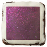 Purple Sparkle Brownie