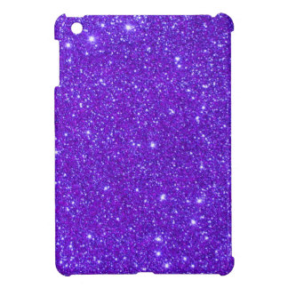 Purple Sparkle Glitter Custom Design Your Own Cover For The iPad Mini