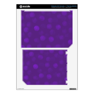 Purple Sparkle Skins For The Wii