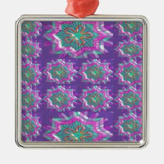 PURPLE Sparkle Star Pattern Goodluck Holy fun GIFT Ornament