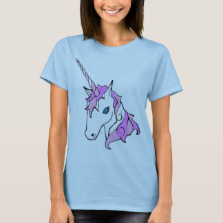 Purple Sparkle Unicorn T-Shirt