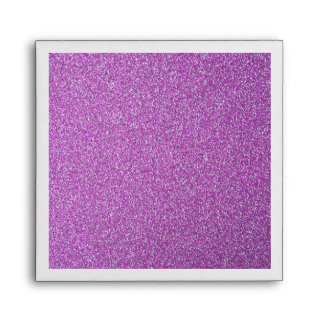 Purple Sparkles Background Add Your Own Envelope