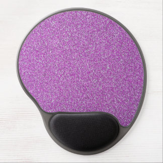 Purple Sparkles Background Add Your Own Gel Mouse Pad