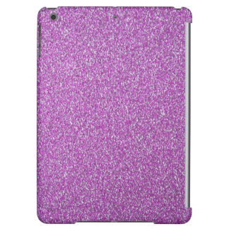 Purple Sparkles Background Add Your Own iPad Air Covers
