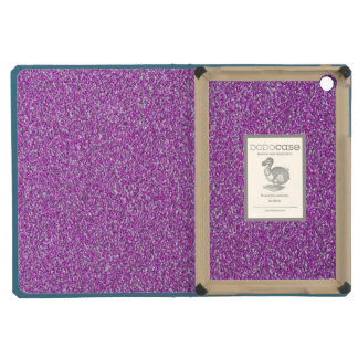 Purple Sparkles Background Add Your Own iPad Mini Case