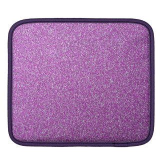 Purple Sparkles Background Add Your Own Sleeve For iPads