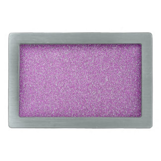 Purple Sparkles Base Add Your Own Rectangular Belt Buckle