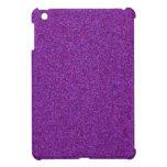 Purple Sparkling Glitter Case For The iPad Mini
