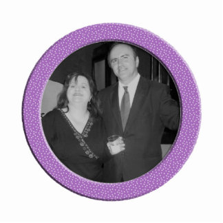 purple speckel frame photo cut out