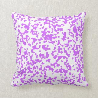 Purple Speckles Pillow