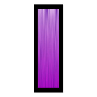 Purple Speed Bookmark Double-Sided Mini Business Cards (Pack Of 20)