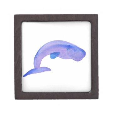 Beach Themed Purple Sperm Whale Gift Box