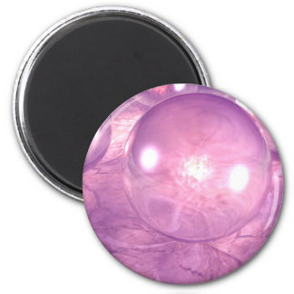 Purple Spheres Magnet