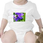 Purple Spider Flowers T Shirt