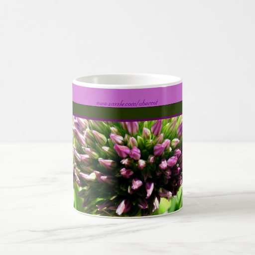Purple Spike Flowers Coffee and Tea Mug