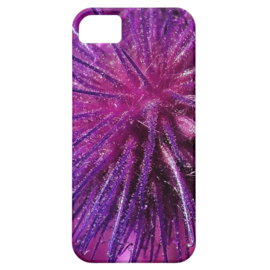 Purple Spikes iPhone SE/5/5s Case