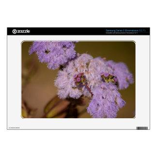 Purple Spiky Flower Samsung Chromebook Skins