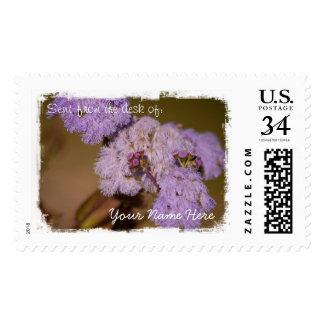 Purple Spiky Flower Stamp