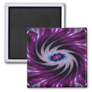 Purple Spin Refrigerator Magnet