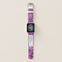 Purple Spiral | Abstract Art Medical Alert ID Apple Watch Band