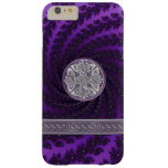 Purple Spiral Fractal Celtic Knot iPhone 6 Case