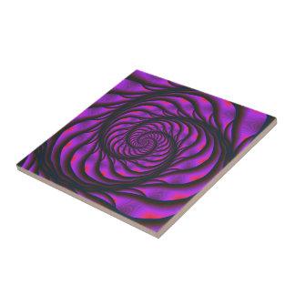 Purple Spiral Ladder tile