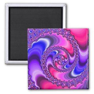 Purple Spiral magnet